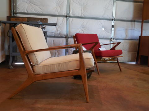 Exceptionnel Ib Kofod Larsen Lounge Chair For Selig